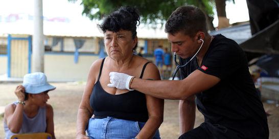 'El único temor que tenemos es no poder ser útiles': médico colombiano