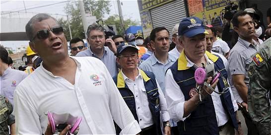 Rafael Correa responsabiliza a constructores por daños durante sismo