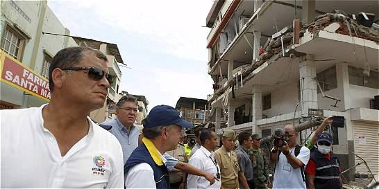 Ecuador pide crédito al Fondo Monetario Internacional por el terremoto