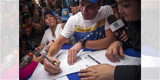Los pasos que debe seguir la oposición para revocar mandato de Maduro