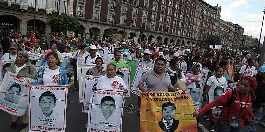 'Mi tristeza es no haber hallado a los 43 de Ayotzinapa'