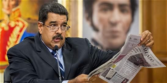 Nicolás Maduro descarta revocatoria y dice que AN 'desaparecerá'