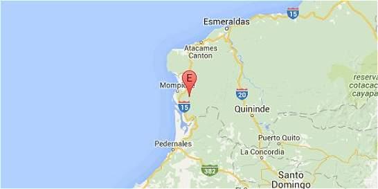 Ecuador confirma un muerto y 85 heridos por sismos de este miércoles