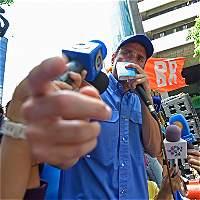 Poca acogida en movilización de opositores venezolanos revela desgaste