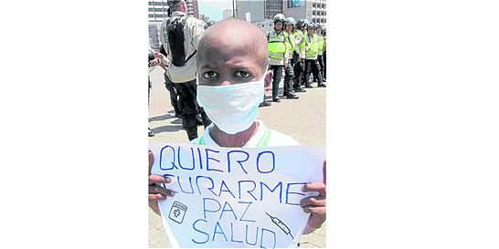 Oliver Sánchez, víctima de falta de medicamentos en Venezuela