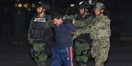 Suspenden la extradición de 'El Chapo' Guzmán a Estados Unidos