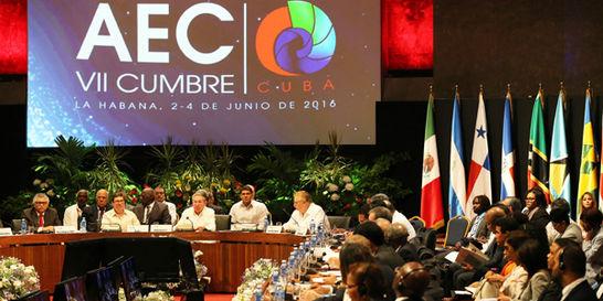 Interconectividad y clima, claves de la cumbre AEC