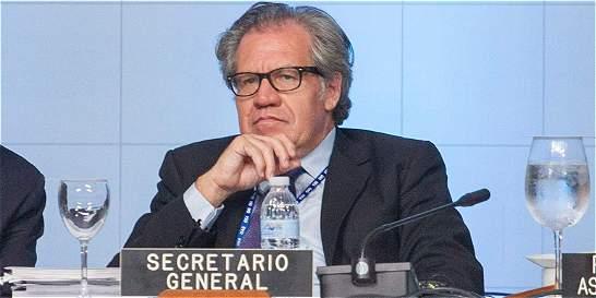 'Nadie quiere expulsar a Venezuela de la OEA', dice Almagro