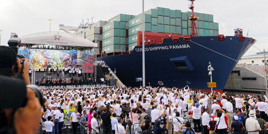 Panamá, con canal ampliado al mundo