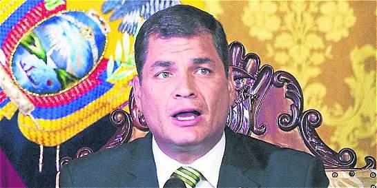 Correa quiere inhabilitar a políticos con dineros en paraísos fiscales