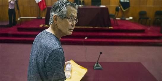 Expresidente Alberto Fujimori presentó solicitud de indulto