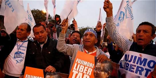 Presidente electo de Perú dijo que no firmará indulto para Fujimori