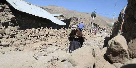 Perú, golpeado por sismo de 5,3 grados