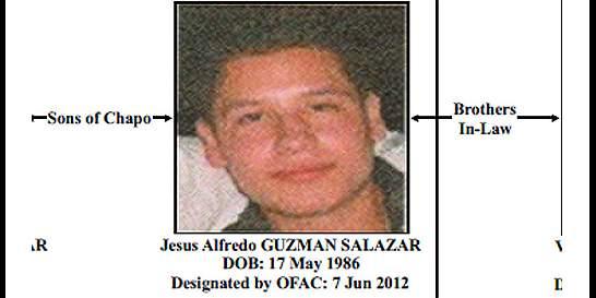 Familia Guzmán dice que hijo de 'el Chapo' fue liberado en México