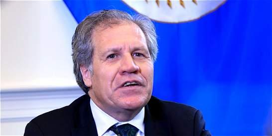 Jefe de la OEA acusa