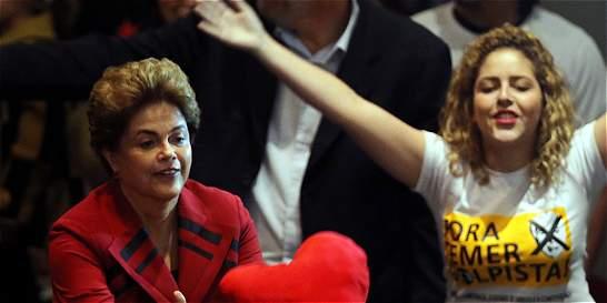Este jueves empieza la hora de la verdad para Rousseff en Brasil
