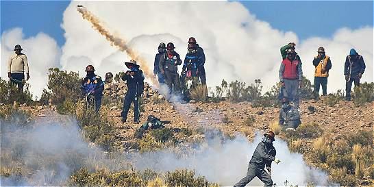 Paso a paso de las protestas en las que murió viceministro boliviano