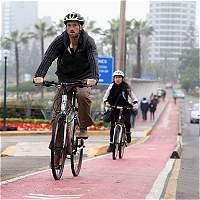 Lima se sube a la bicicleta como alternativa al congestionado tránsito