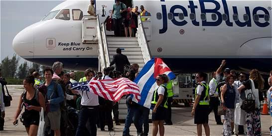 Vuelos comerciales favorecen el deshielo entre Estados Unidos y Cuba
