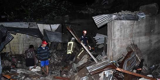 Alud por lluvias deja al menos seis muertos en Guatemala