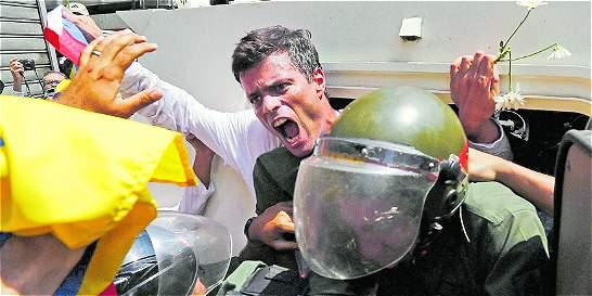 El 'montaje' del que fue víctima el líder venezolano Leopoldo López