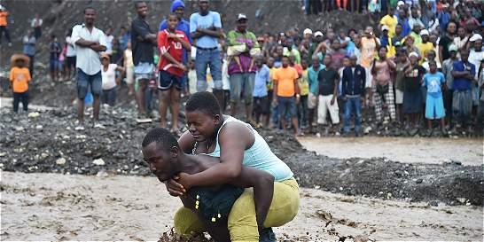 En Haití aún no saben cuántos muertos dejó el huracán Matthew