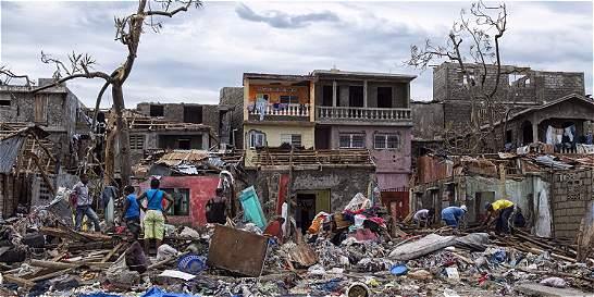 Tragedia en Haití: Matthew dejó al menos 800 muertos
