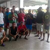 Dos de los 91 colombianos presos en Caracas relatan su drama