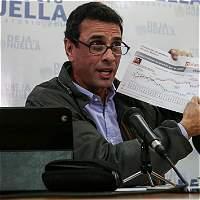 'En Venezuela se dio un golpe de Estado': Henrique Capriles