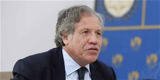 Jefe de la OEA pide nueva mediación para Venezuela