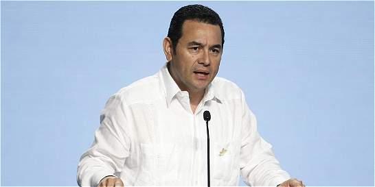 Allanan Casa Presidencial de Guatemala por un caso de lavado de dinero