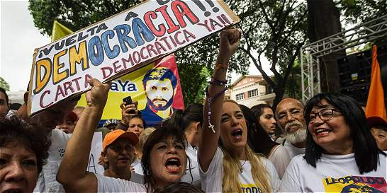 Video: el emotivo grito de vida de Leopoldo López para Lilian Tintori