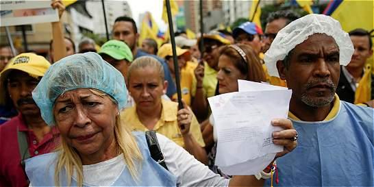 Venezolanos pidieron ayuda internacional por escasez de medicamentos