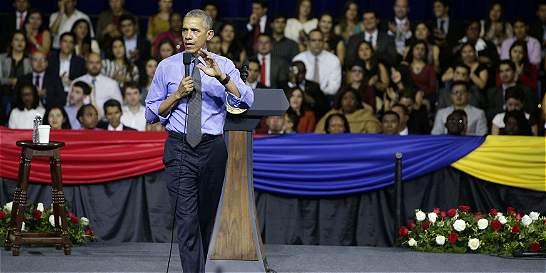 Obama no prevé 'grandes cambios' con Trump respecto a América Latina