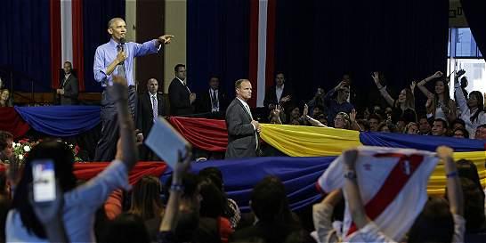 En Lima, Obama pidió una oportunidad para Trump