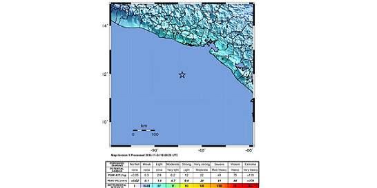 Un terremoto de magnitud 7,2 sacude a El Salvador y países vecinos