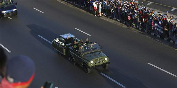 Cuba devuelve las cenizas de Castro al lugar de nacimiento de la Revolución