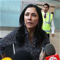 Nadine Heredia se presenta ante la justicia peruana
