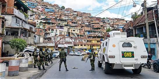 Caracas: ahí están las marcas de esos disparos