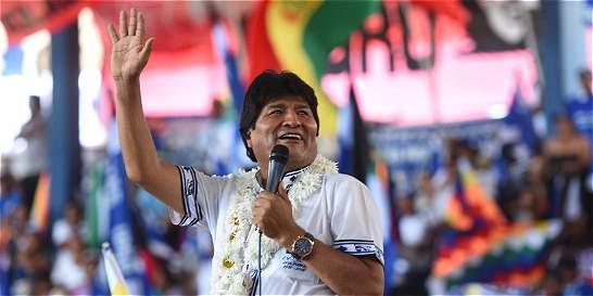 Evo Morales buscará reelegirse para su cuarto mandato en 2019
