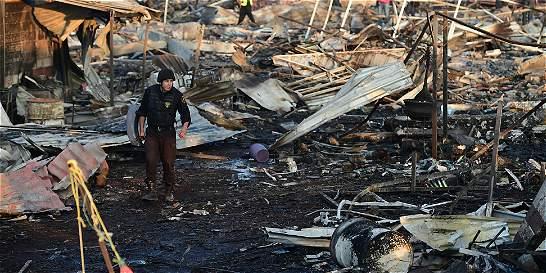 Explosión en fábrica de pirotecnia en México deja 31 muertos