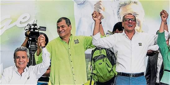 Moreno y Glas, la fórmula de Correa a la presidencia en Ecuador