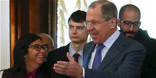 Gobierno de Venezuela recibe respaldo ruso ante la crisis