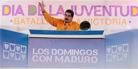 Maduro dice que los colombianos están inmigrando 'en masa' a Venezuela