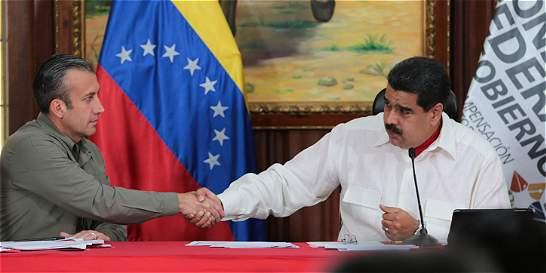 Maduro culpa a Obama de que su vicepresidente esté en lista de narcos