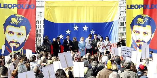 Seguidores de Leopoldo López marchan para pedir su libertad