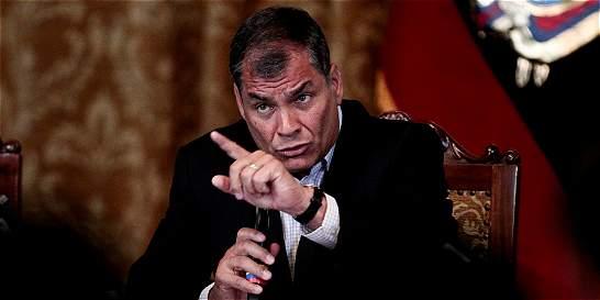 Rafael Correa dice que será 'fácil derrotar' a Lasso en segunda vuelta