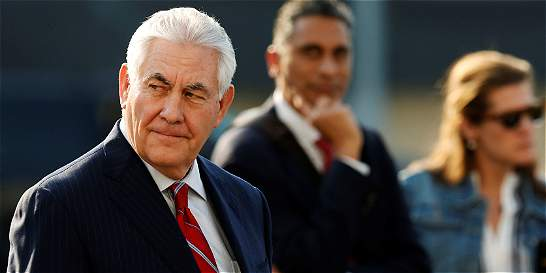 Tillerson y Kelly esperan acercar posturas durante su visita a México
