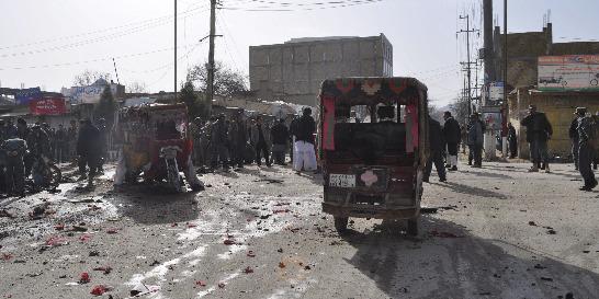 Ataque suicida múltiple en Afganistán causa 18 muertos y 20 heridos