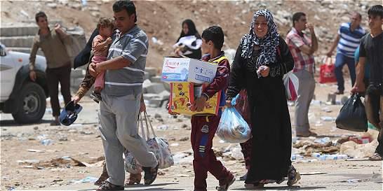 Denuncian que miles de niños sirios refugiados en Líbano deben laborar